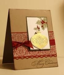Image result for handmade christmas bells cards