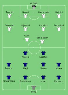 24 May 1989, Camp Nou, Barcelona, AC Milan 4-0 Steaua București, R. Gullit Goal 18', 39', M. Van Basten Goal 27', 47'