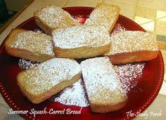 Zucchini Carrot Bread #bread #recipes #vegetables