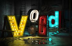 Enter the Void on Behance