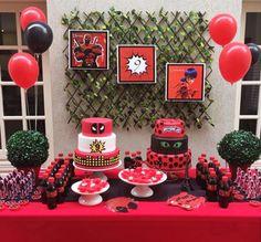 Festa Deadpool 11th Birthday, First Birthday Parties, Birthday Celebration, Invitation Card Birthday, Birthday Cake Card, Deadpool, Birthday Party Images, Happy Birthday Brother, Baby Shark