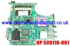 Replacement for HP 509116-001 Laptop Motherboard