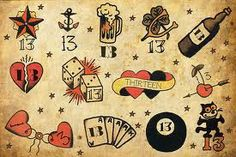 classic tattoo flash - Google 検索