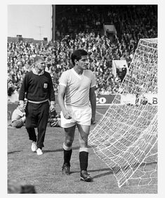 quarter-final, Germany v Uruguay 4:0 - Hector Silva (URU) walking off the pitch behind the goal after being shown the red card 1966 World Cup, Pitch, Germany, Baseball Cards, Sheffield, Sports, Goal, Walking, Red