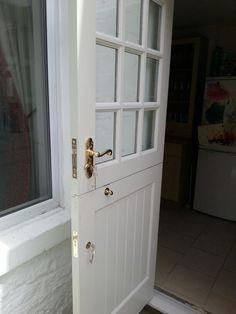 Stable door with brass ironmongery. & Stable door with brass ironmongery. | Door | Pinterest | Doors ...