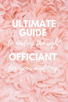 The ultimate guide to finding the right professional wedding officiant! Wedding Ceremony Script, Wedding Advice, Wedding Vows, Wedding Vendors, Diy Wedding, Wedding Ceremonies, Wedding Blog, Lace Wedding, Wedding Dresses