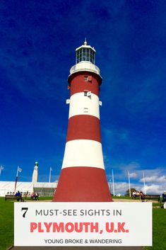 Check out these 7 things to do in Plymouth on your next trip! Don't visit this quaint English town without adding these things on your itinerary! Sprachreise England, Plymouth England, Stuff To Do, Things To Do, England Countryside, Castles In England, Cruise Travel, Disney Cruise, Ireland Travel