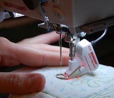 free motion quilting bernina 750 you tube - Google Search