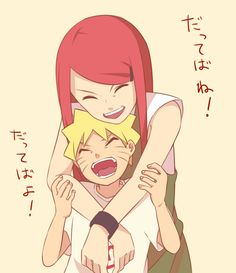 Kushina: Yes?Naruto: Can You protect me from the villagers?Kushina Of Course!