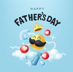 Banner de feliz día del padre con bigote... | Premium Vector #Freepik #vector #corazon #tarjeta #regalo #nube Daddy Day, Retro, Smiley, Vector Freepik, Happy, Greeting Card, Fedora Hat, Happy Fathers Day, Moustaches
