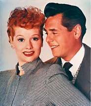 I Love Lucy and her husband on and off screen Desi Arnez
