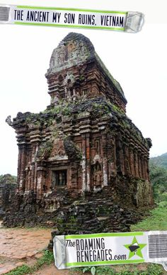 Visiting the My Son ruins, the ancient Champa temples that narrowly survived the Vietnamese war: https://theroamingrenegades.com/2017/03/my-son-temples-ruins-vietnam.html