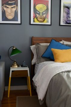 Go hack crazy on your IKEA nightstand to give it some serious attitude.