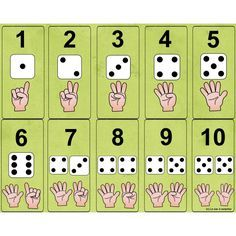 Number and die Numbers Preschool, Math Numbers, Preschool Math, Teaching Math, Kindergarten Math Worksheets, Math Resources, Math Games, Preschool Activities, Math Boards