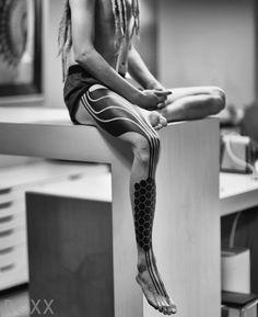 2Spirit Tattoo New leg piece done in 2 days by Roxx