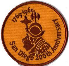 1969 Padres patch. Celebrating San Diego's 200th Birthday!!!