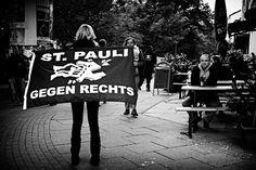 "St Pauli ""Gegen Rechts"""