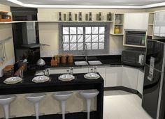 cozinhas sob medida planejadas grandes