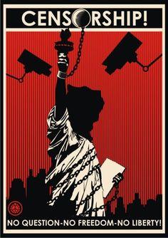 Censorship ( #Protest #Propaganda #Art )