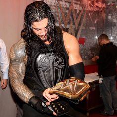 Roman Reigns The WWE World Heavyweight Champion