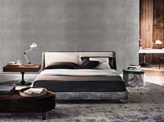 Cama doble SPENCER BED - Minotti