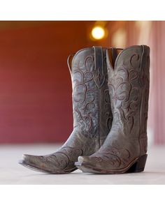 Lucchese Women's Seagreen Madras Mad Dog Boot  http://www.countryoutfitter.com/products/29855-womens-seagreen-madras-mad-dog-boot