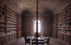 The library of Lord Byron - Pisa, Italy
