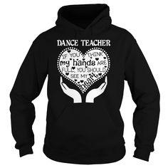 Dance Teacher - Heart T-Shirt