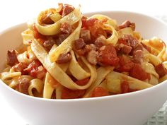 Who doesn't love pasta! Here's some options other than marinara ..