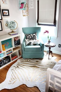 Such a cute space!
