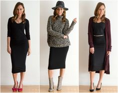 Sydne Style shows how to wear a michael stars little black dress for holiday parties