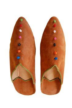 Moroccan Slipper Tan