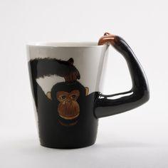 Cute Monkey Mug | World Market