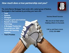 Jamie Benner Mortgage Team to agents