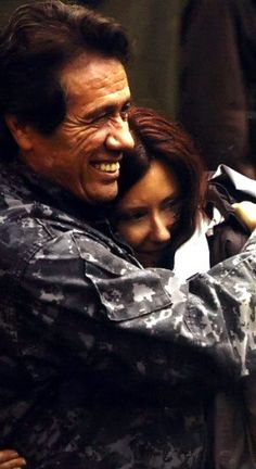 Adama and Roslin. <3 Sweetest love.