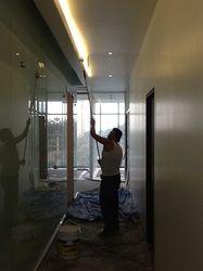 Aplicando Pintura en Cajillos de luz #oficinaAspel