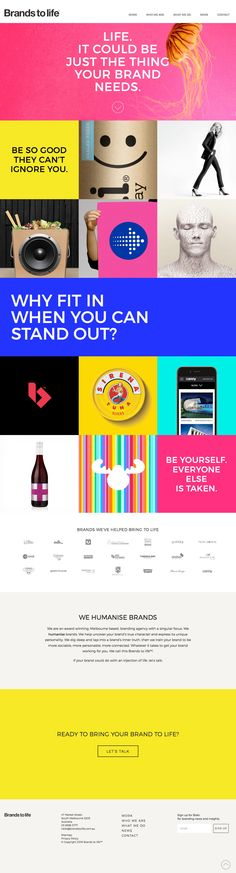 Brands to life (More web design inspiration at topdesigninspiration.com) #design #web #webdesign #inspiration #sitedesign #responsive