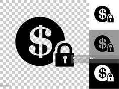 Secure Money Icon On Checkerboard Transparent Background Illustration #Ad, , #Aff, #Icon, #Money, #Secure, #Checkerboard Cool Designs, Company Logo, Money, Logos, Illustration, Silver, Logo, Illustrations