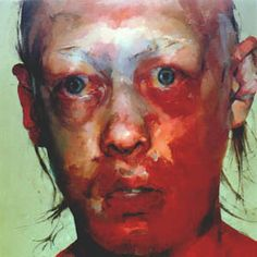 Jenny Saville - 'Figure' - In 1997 she used figurative painting techniques to creat this to create extreme humanness. I like the realist approach to the painting using vivid colours. It is very similar to Bacon's work with the contemporary feel but using traditional figurative painting techniques.