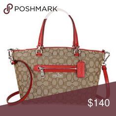 Coach purse Very lightly used. In good condition. NO TRADES PLEASE! Coach Bags Shoulder Bags