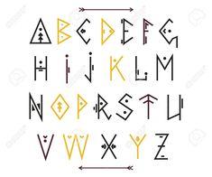 Ethnic-font-vector-alphabet-123rf.