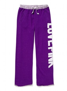Victoria Secret PINK boyfriend sweat pants. BY FAR my favorite style of vs sweats i have owned!