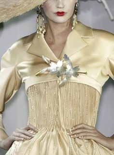 Christian Dior by Galliano, Spring Couture 2007 - Details