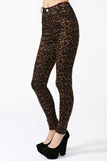 Jordan Leopard Jeans