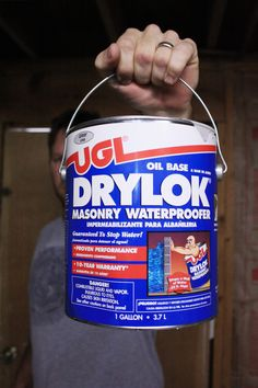 How to waterseal your basement