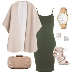 Out for a Nice Dinner look . by kiaraamonae on Polyvore featuring Miss Selfridge, MANGO, Carvela, Sondra Roberts, Kate Spade and Anita Ko