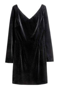 h&m - Robe en velours