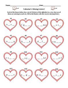 math worksheet : preschool worksheets worksheets and preschool on pinterest : Valentine Math Worksheets Free