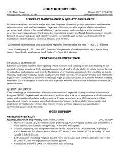 maintenance resume template free httpwwwresumecareerinfomaintenance