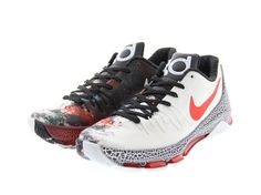 4f71aa2559ed Details about Nike KD 8 VIII Christmas Mens 12M Red Black White Kevin  Durant 822948-106 (0-14